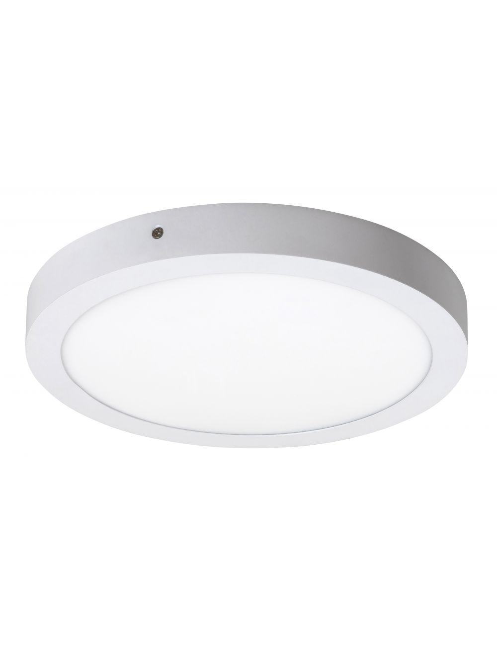 Plafon sufitowy ledowy okrągły natynkowy 30 cm Lois biały Rabalux 2657