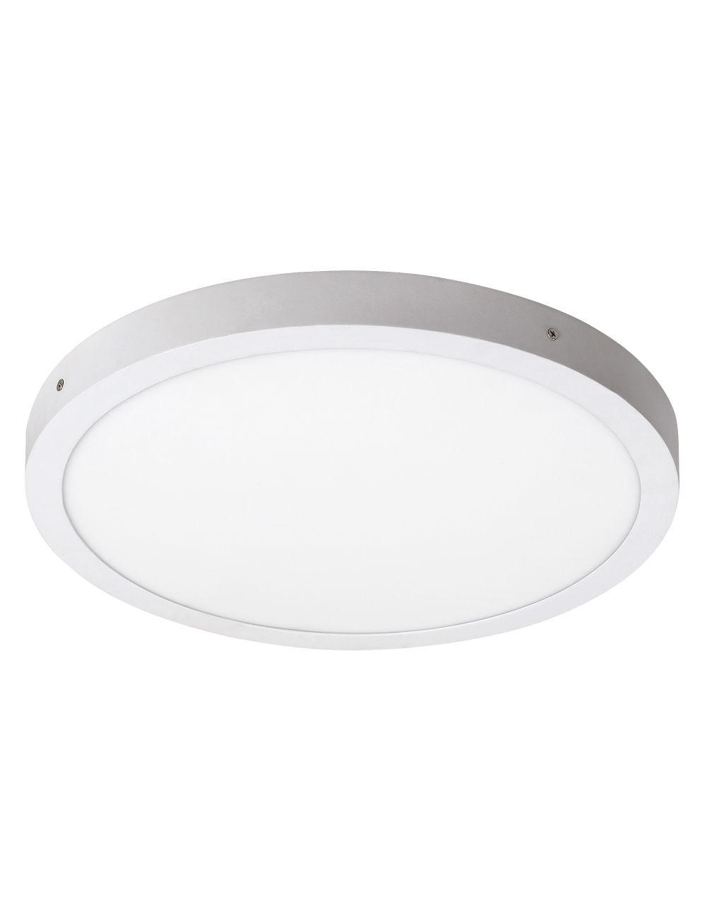 Plafon sufitowy ledowy okrągły natynkowy 40 cm Lois biały Rabalux 2658