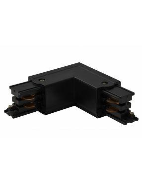 Złącze czarne prawe do szyny montażowej Azzardo AZ2985