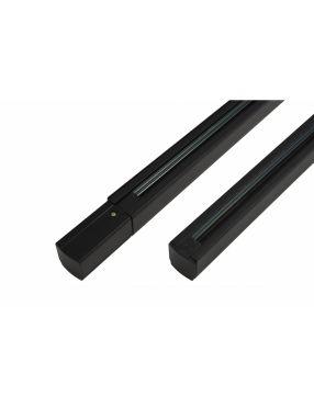 Szyna 3 fazowa czarna długość 1 mb zasilanie początkowe + końcówka Azzardo AZ2987