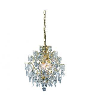 100524 Rosendal lampa wisząca  złota Markslojd