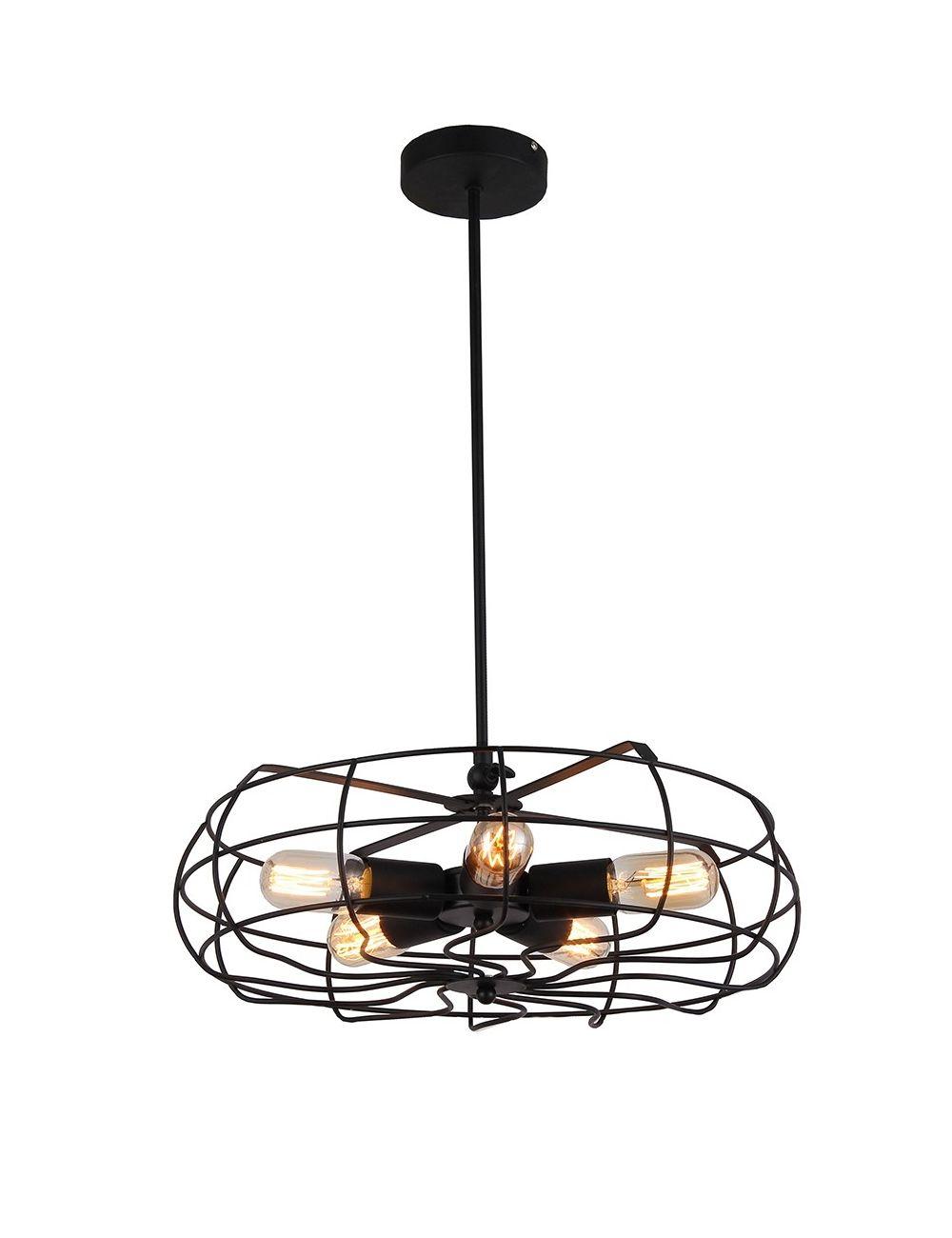 FLMD02 Fan lampa wisząca Azzardo