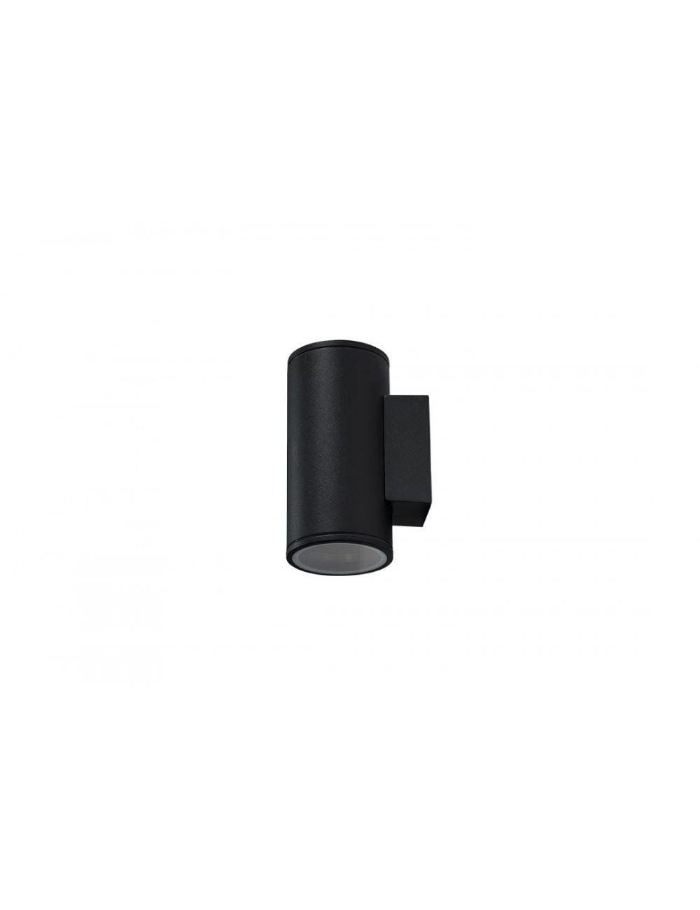 Kinkiet elewacyjny zewnetrzny czarny Joel Wall 2 Azzardo AZ3320