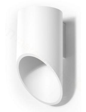 Kinkiet ścienny tuba metalowa  biały 1 Penne  Sollux SL.0107