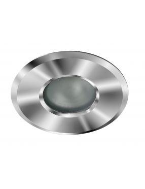Lampa oczko wpuszczane do regipsu IP 44 chromowe okrągłe Oscar 1 Azzardo