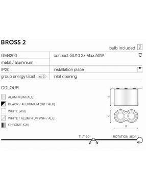 GM4200 Bross 2 aluminium Azzardo