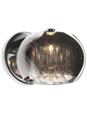 Kinkiet nowoczesny kryształowy szklany Crystal glamour  ZumaLine W0076-01D-F4FZ