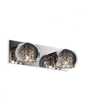 Kinkiet nowoczesny kryształowy szklany podwójny Crystal glamour ZumaLine W0076-02A-B5FZ
