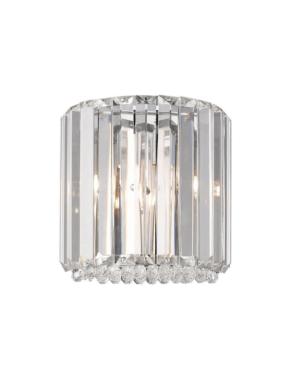 Kinkiet ścienny nowoczesny kryształowy Prince Zumaline W0360-01A-B5AC