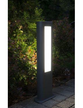 Lampa stojąca ogrodowa nowoczesna ledowa antracyt 30 cm Evo GL15401