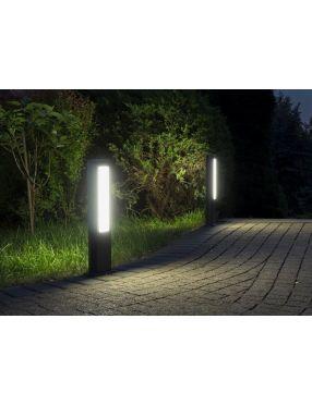 Lampa stojąca ogrodowa nowoczesna ledowa antracyt 8i0 cm Evo GL15403