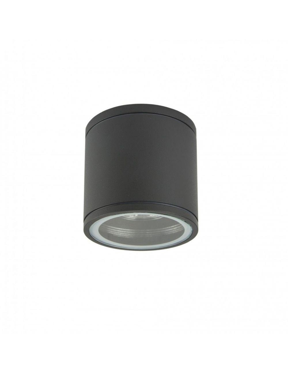 Lampa tuba plafon zewnętrzny antracyt Adela Midi IP 54 SU-MA