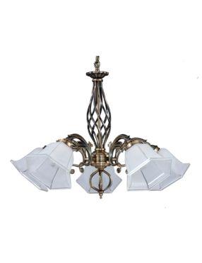 5192511 Wella lampa 5pł patyna