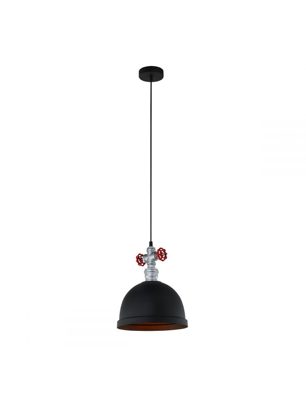 MDM2859/1BK Mokka lampa wisząca Italux