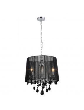 MDM-2572/3 BK Cornelia lampa wisząca czarna