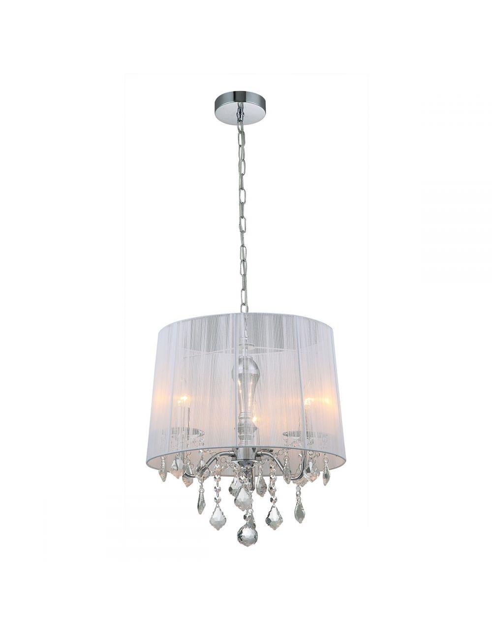 MDM-2572/3 W Cornelia lampa wisząca biała