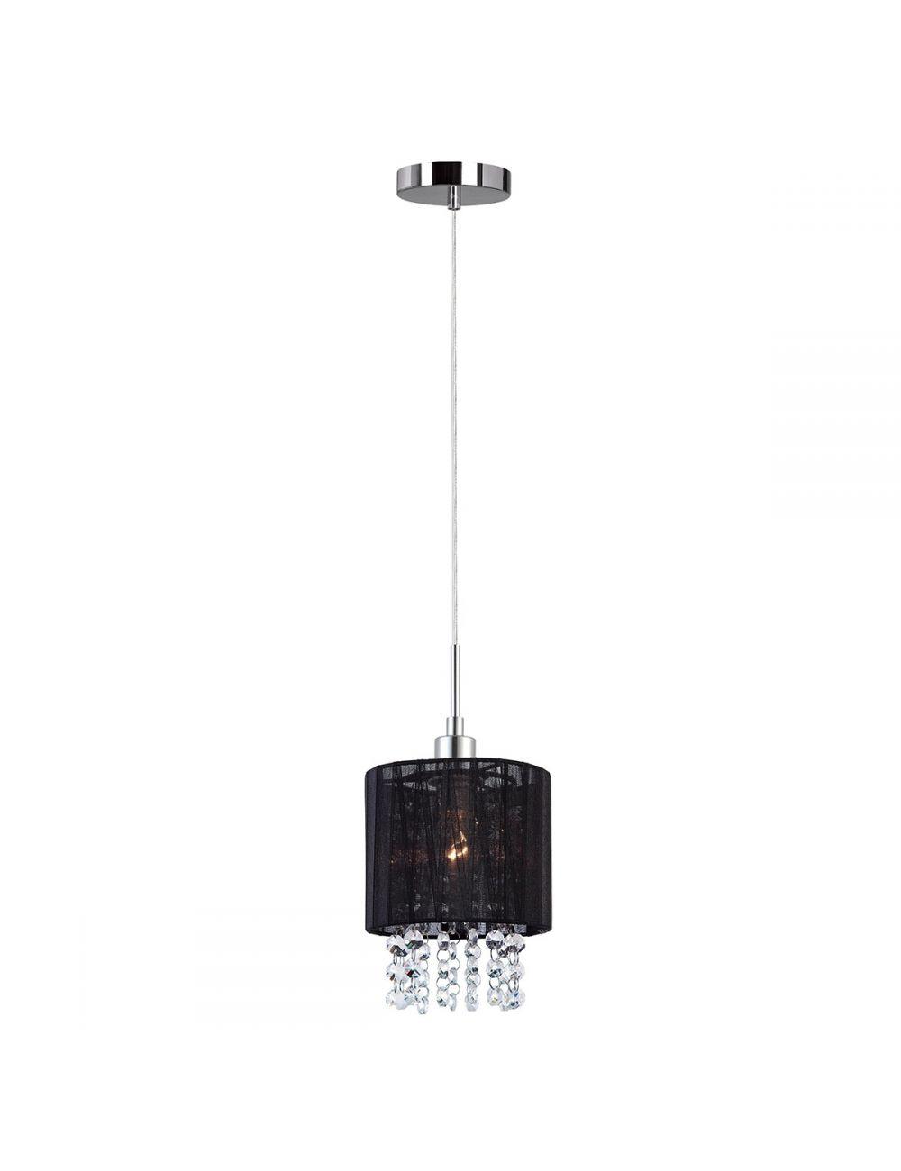 MDM1953-1 BK  Astra lampa 1pł czarna