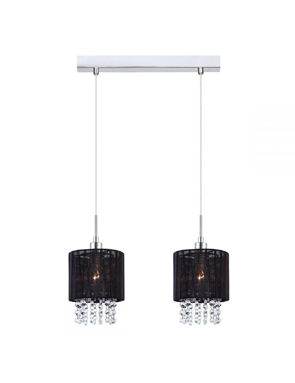 MDM1953-2 BK Astra lampa 2  czarna