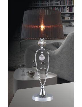 MTM1637-1BK Vivien lampka nocna czarna